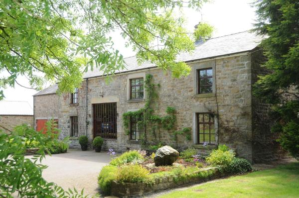 Greenbank Farmhouse in Abbeystead, Lancashire, England