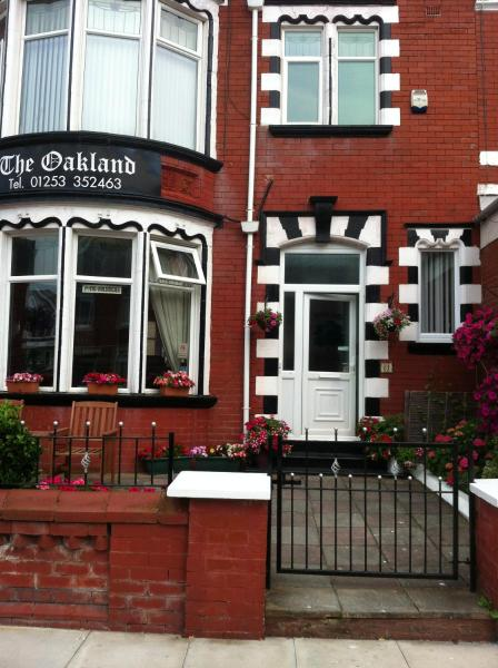 The Oakland Guest House in Blackpool, Lancashire, England