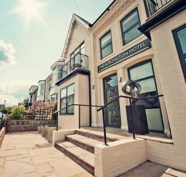 The Burlington Hotel in Cleethorpes, Lincolnshire, England