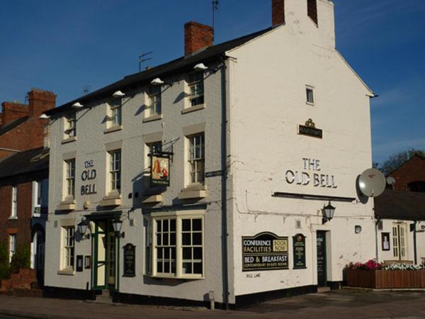 The Old Bell in Shrewsbury, Shropshire, England