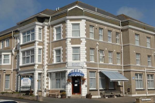 Eliot Hotel in Newquay, Cornwall, England