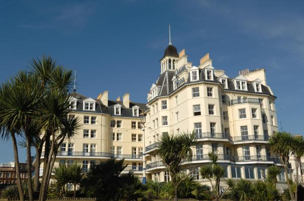 Queens Hotel in Eastbourne, East Sussex, England