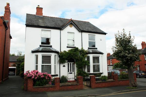 Laurels in Oswestry, Shropshire, England