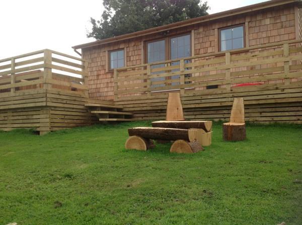 Orme View Lodges in Bangor, Gwynedd, Wales