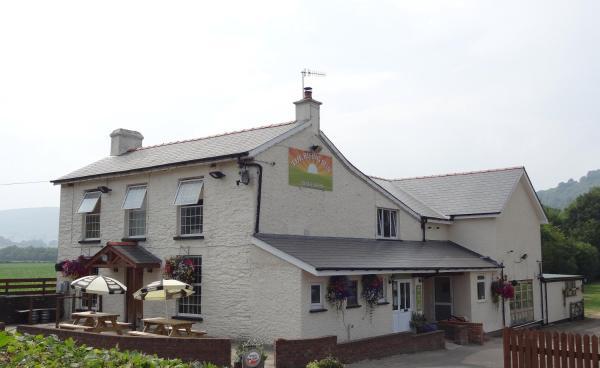 The Rising Sun in Llanvihangel Crucorney, Monmouthshire, Wales