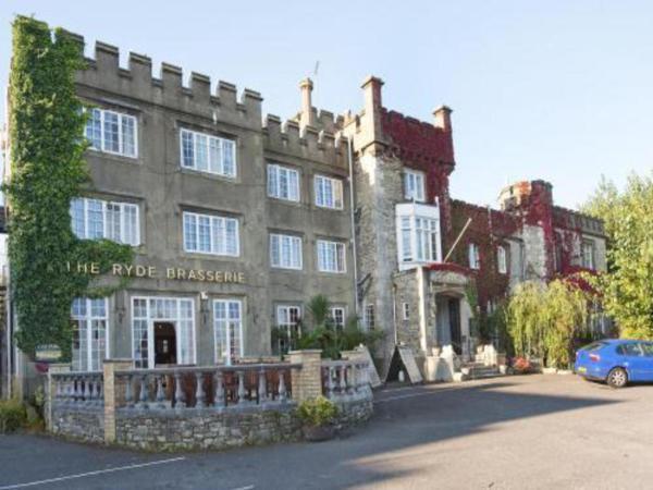 Ryde Castle in Ryde, Isle of Wight, England