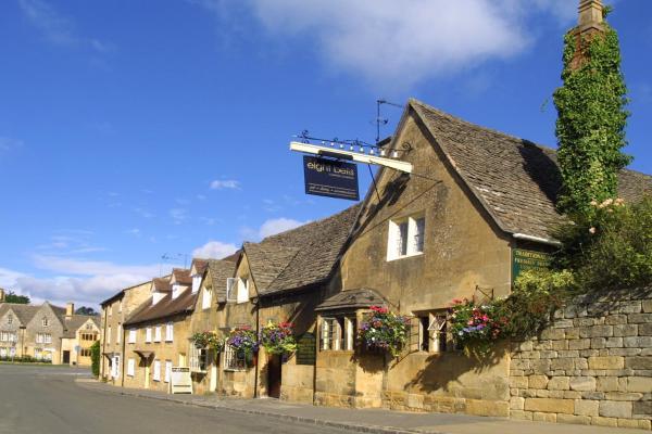 Eight Bells Inn in Chipping Campden, Gloucestershire, England