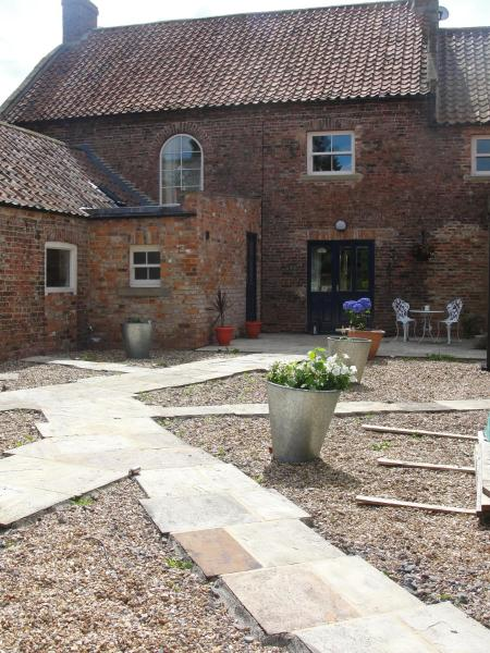 Newsham Grange Farm in Thirsk, North Yorkshire, England