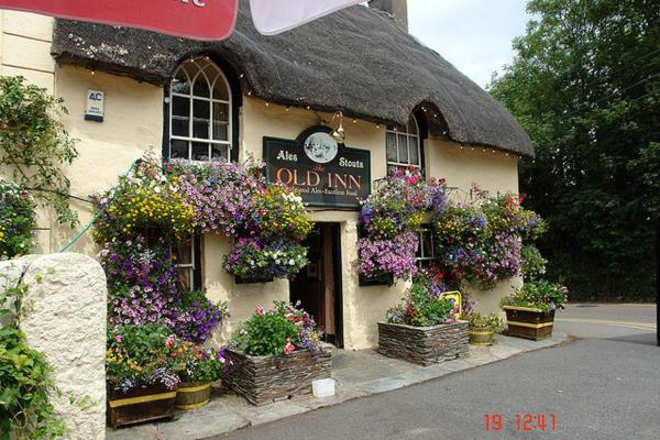 The Old Inn in Mullion, Cornwall, England