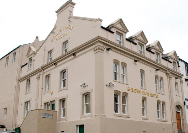 The Golden Lion Hotel in Maryport, Cumbria, England