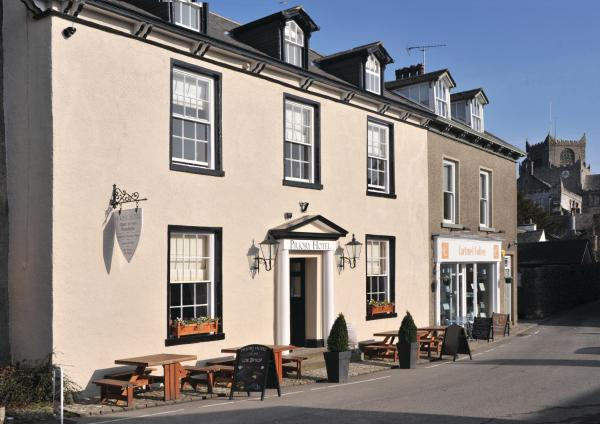 Priory hotel in Cartmel, Cumbria, England