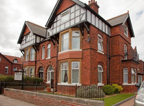 Melrose Guest House in Whitby, North Yorkshire, England