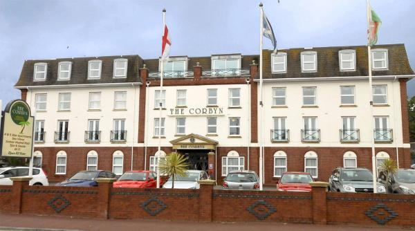 The Corbyn Apartments in Torquay, Devon, England