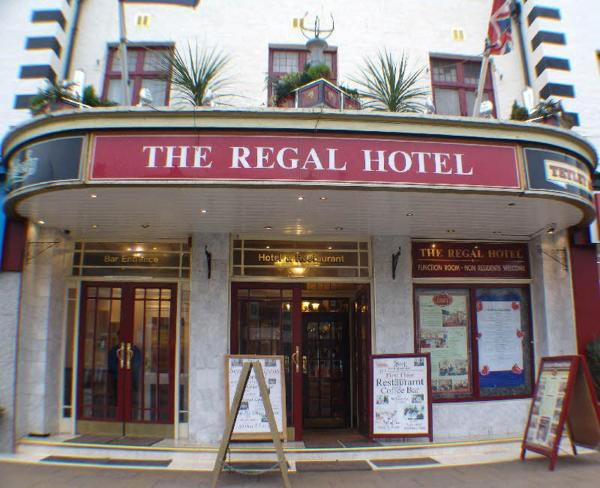 The Regal Hotel in Blackpool, Lancashire, England