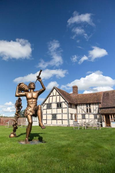 Eckington Manor in Pershore, Worcestershire, England