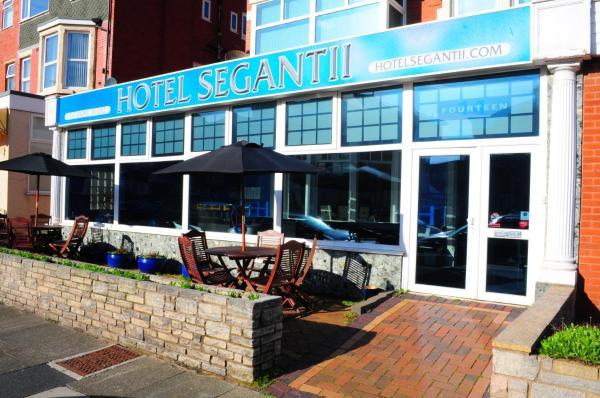 Hotel Segantii in Blackpool, Lancashire, England