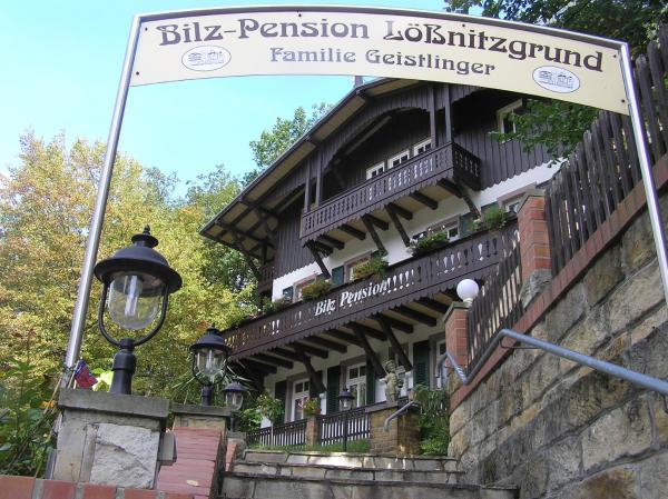 Bilz-Kurhotel im Lößnitzgrund, Pension in Moritzburg bei Radeburg
