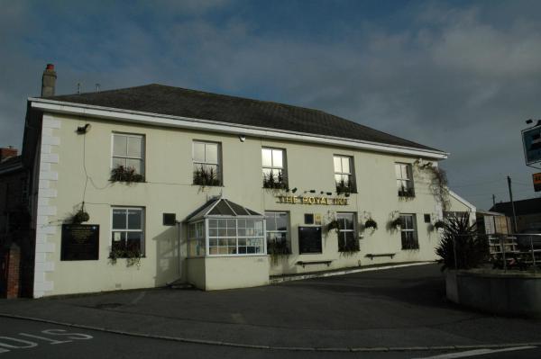 The Royal Inn in St Austell, Cornwall, England