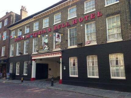 The Royal Victoria & Bull Hotel in Rochester, Kent, England