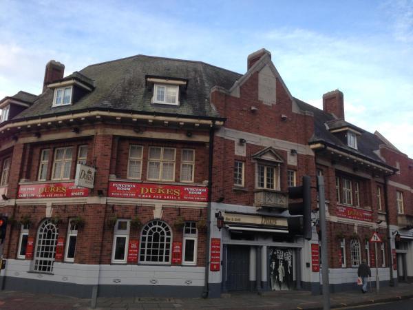 Wellington Hotel in Wallasey, Merseyside, England