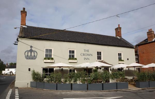 The Crown Inn in East Rudham, Norfolk, England