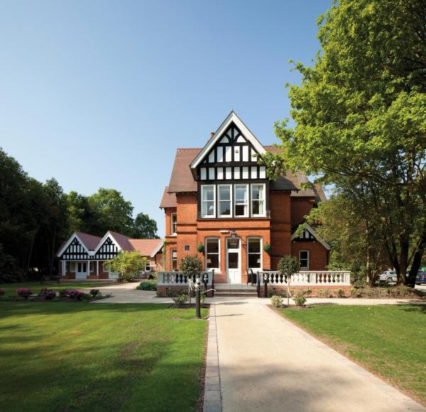 The Dower House Hotel in Woodhall Spa, Lincolnshire, England