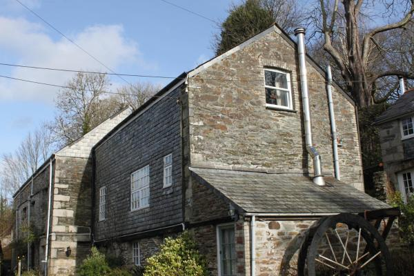 Bissick Old Mill in Mitchell, Cornwall, England