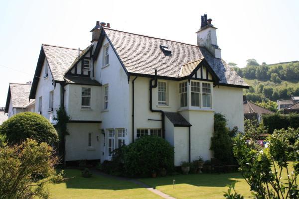 Longmead House in Lynton, Devon, England
