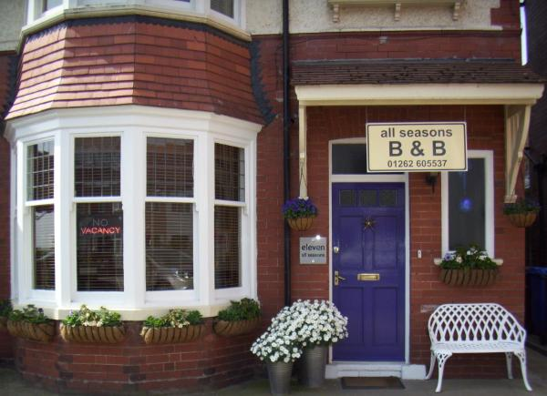 All Seasons B&B in Bridlington, East Riding of Yorkshire, England