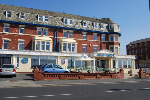 Elgin Hotel in Blackpool, Lancashire, England