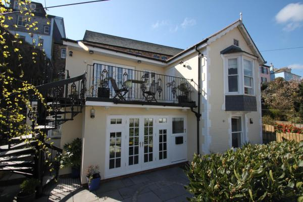 St Elmo Cottage in Dartmouth, Devon, England