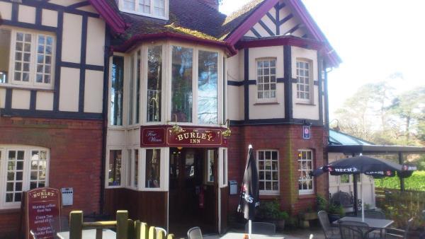 The Burley Inn in Burley, Hampshire, England