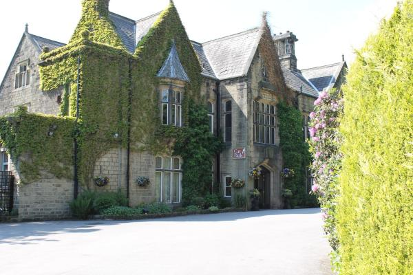 Oakwood Hall Hotel in Bingley, West Yorkshire, England