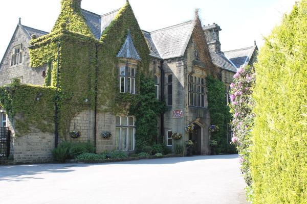 Oakwood Hall Hotel in Bingley, West Yorkshire, England