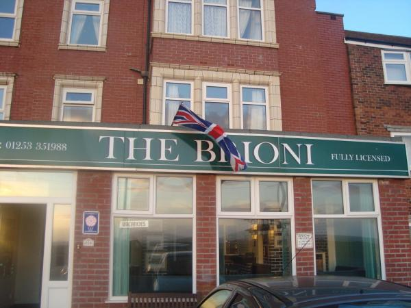 The Brioni in Blackpool, Lancashire, England