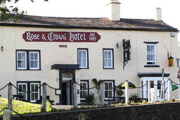 Rose & Crown Hotel in Bainbridge, North Yorkshire, England