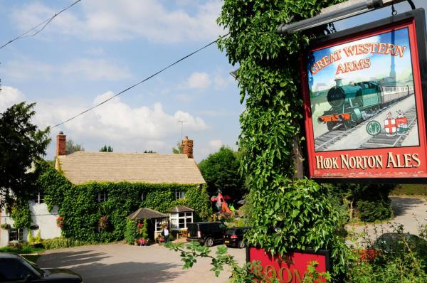 The Great Western Arms in Aynho, Northamptonshire, England