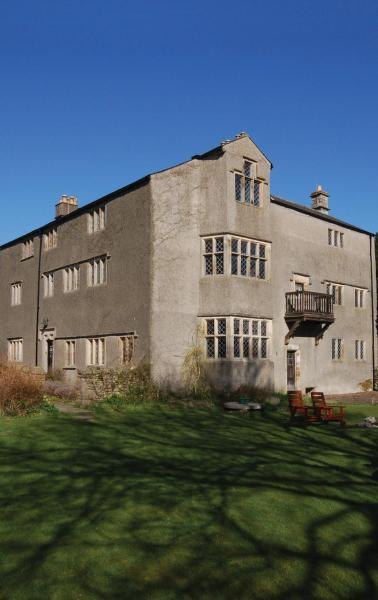 Swarthmoor Hall in Ulverston, Cumbria, England