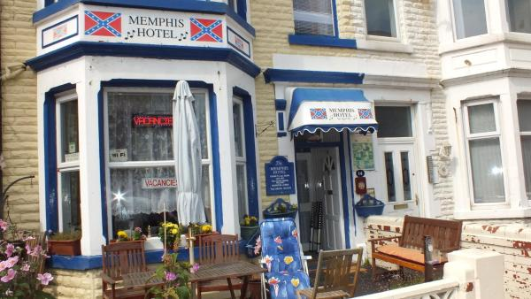 Memphis Hotel in Blackpool, Lancashire, England