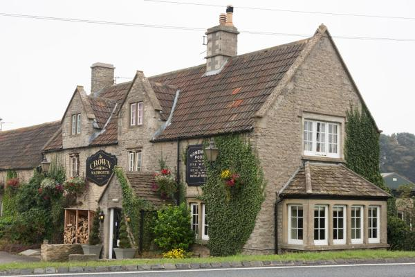 Crown Inn at Tolldown in Chipping Sodbury, Gloucestershire, England