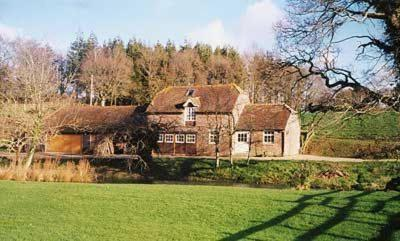 Mill Pond Cottage in Bere Regis, Dorset, England