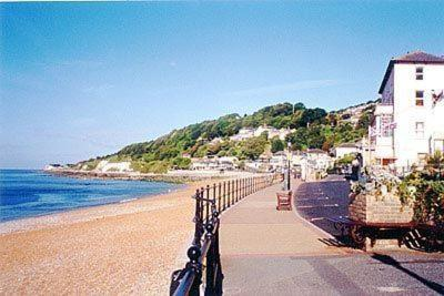 Ocean View in Ventnor, Isle of Wight, England