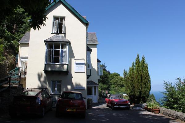 North Walk House in Lynton, Devon, England