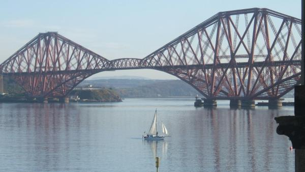 Crawsteps in Queensferry, Midlothian, Scotland