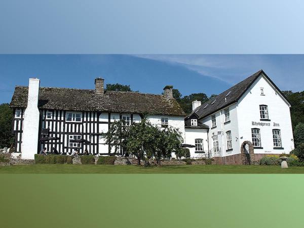 Rhydspence in Hay-on-Wye, Powys, Wales