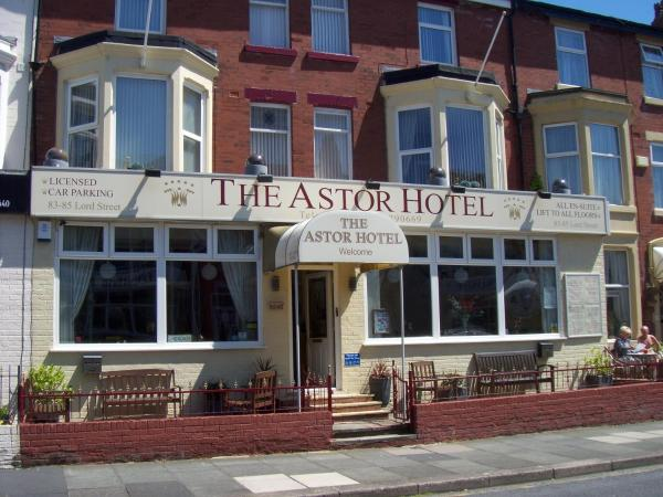 The Astor Hotel in Blackpool, Lancashire, England