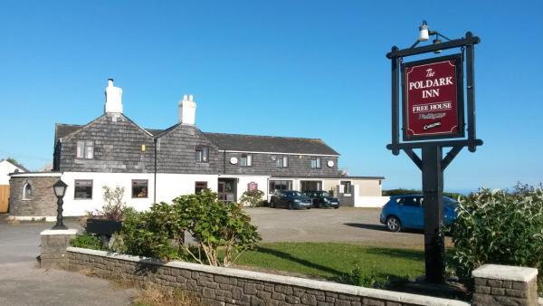 The Poldark Inn in Delabole, Cornwall, England