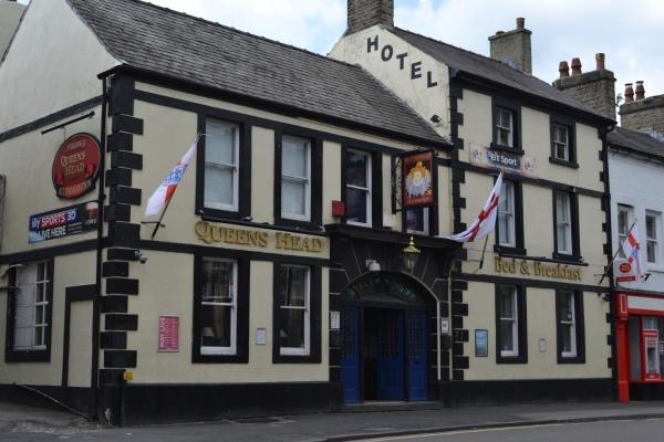 The Queen's Head Hotel in Buxton, Derbyshire, England