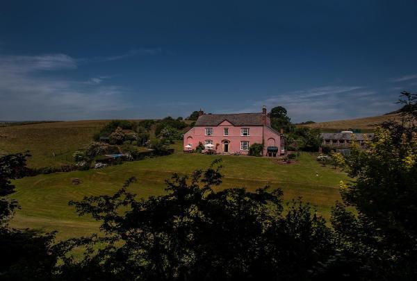 Wood Advent Farm in Watchet, Somerset, England