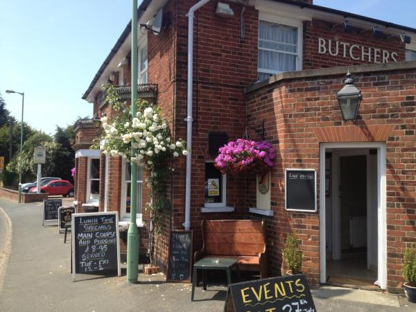 The Butchers Arms Freehouse in Aldeburgh, Suffolk, England